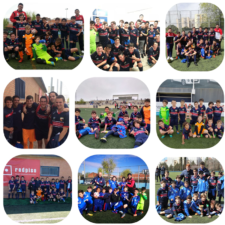 Foto de los equipos que este fin de semana consiguieron triunfos y victorias importantes