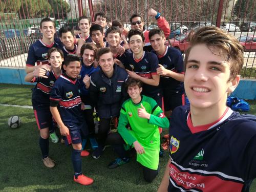 Selfie Fútbol Cadete