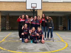 Las chicas del baloncesto